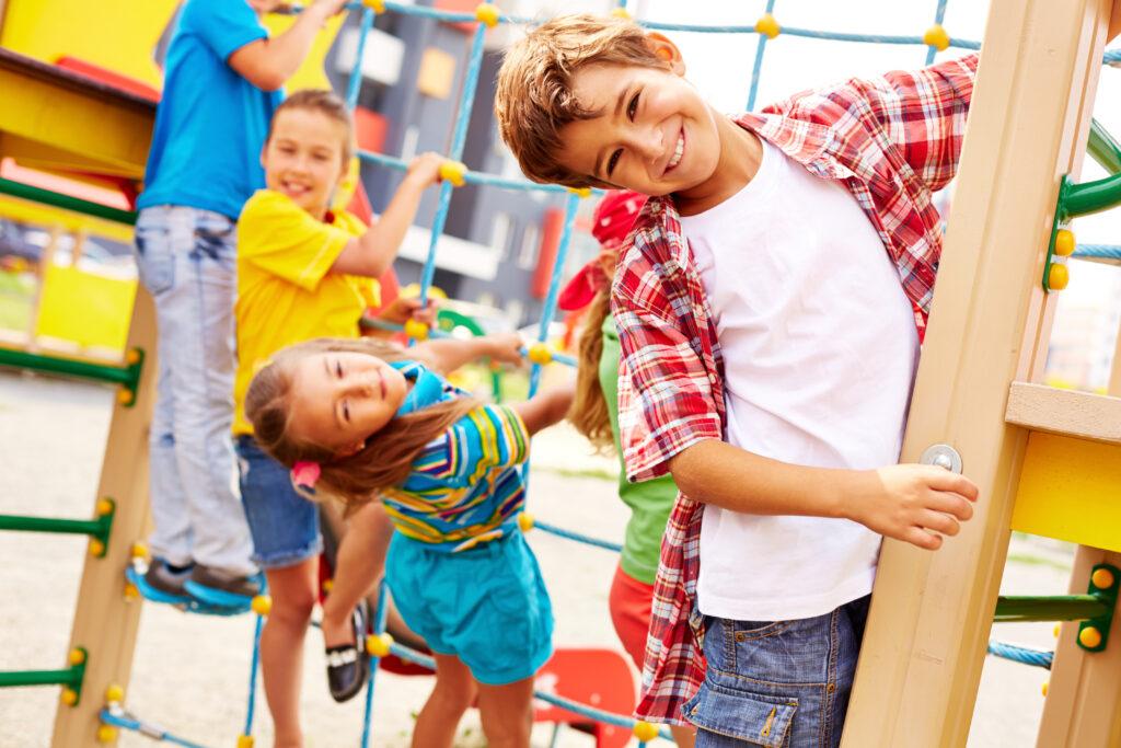 Børn der har det sjovt